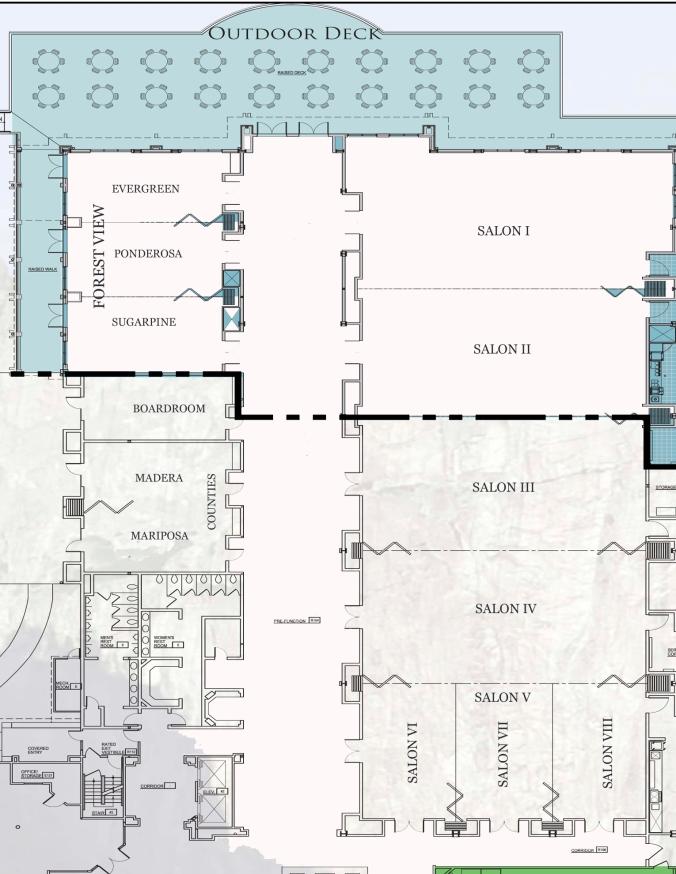 Tenaya Floorplan